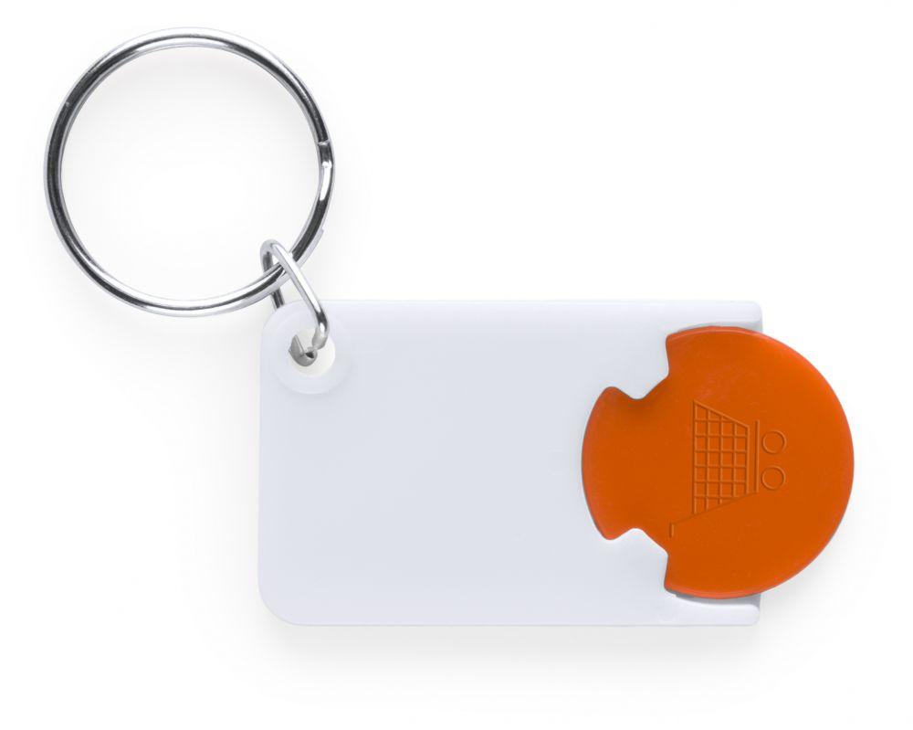Llaveros con moneda zabax con logo vista 1