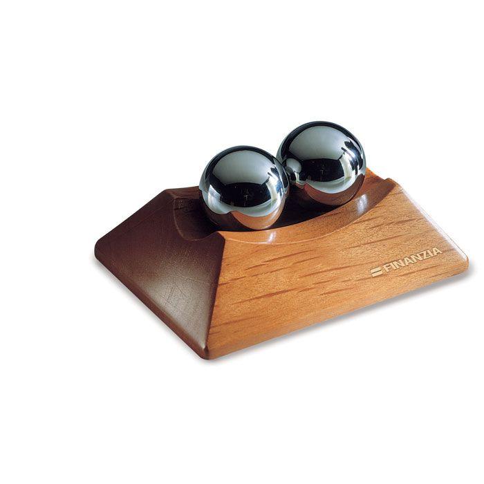 Pisapapeles zion de madera con impresión vista 1