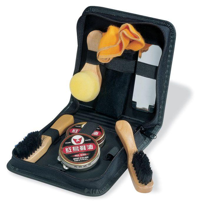 Otros accesorios de viaje clearise set limpiacalzado con cepillo de pvc vista 1