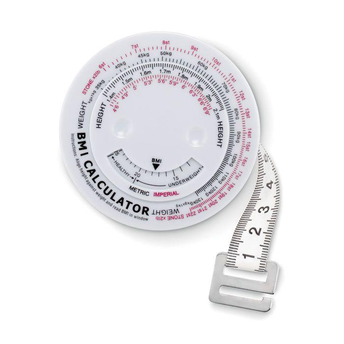 Metros y reglas measure it cinta métrica para imc de plástico con impresión vista 1